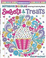 Notebook Doodles: Sweets and Treats | Paperback Book