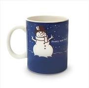Colour Changing Snowman Mug