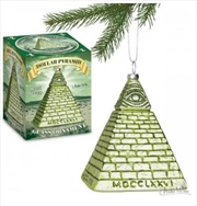 Dollar Pyramid Ornament - Archie Mcphee