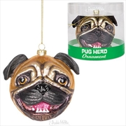 Pug Head Ornament - Archie McPhee | Homewares