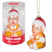 Santa Monk Ornament - Archie McPhee | Homewares