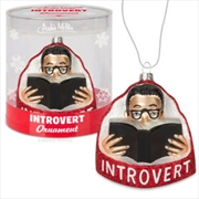 Introvert Ornament - Archie McPhee