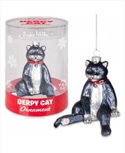 Derpy Cat Ornament - Archie McPhee