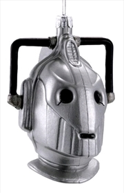 Cyberman 4.25 Inch Glass Xmas | Collectable