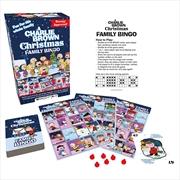 Charlie Brown Christmas Family Bingo | Merchandise