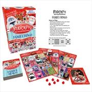 Rudolph Family Bingo | Merchandise