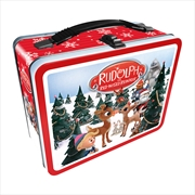 Rudolph The Red-Nosed Reindeer Tin Fun Box