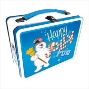 Frosty The Snowman Tin Fun Box | Lunchbox