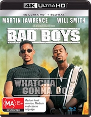 Bad Boys | Blu-ray + UHD + UV