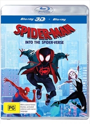Spider-Man - Into The Spider-Verse | 3D + 2D Blu-ray