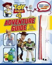Toy Story 4 - Adventure Guide with Make a Friend for Forky | Paperback Book