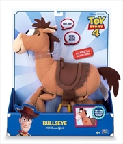 Toy Story 4 - Deluxe Talking Bullseye 12""
