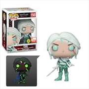 Witcher Ciri Magic Glow Pop! Vinyl 2019 E3 Exclusive