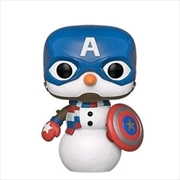 Captain America - Captain America Holiday Pop! Vinyl