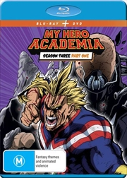 My Hero Academia - Season 3 - Part 1 | Blu-ray + DVD | Blu-ray/DVD