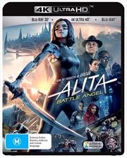 Alita - Battle Angel | 3D + 2D Blu-ray + UHD (BONUS COLLECTOR CARDS)