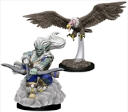 Wardlings - Wind Orc & Vulture Pre-Painted Mini