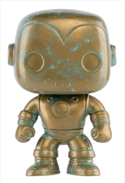 Iron Man - Marvel 80th Anniversary Patina US Exclusive Pop! Vinyl [RS]