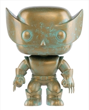 X-Men - Wolverine Marvel 80th Anniversary Patina US Exclusive Pop! Vinyl [RS] | Pop Vinyl