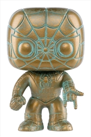 Spider-Man - Marvel 80th Anniversary Patina US Exclusive Pop! Vinyl [RS]