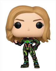 Captain Marvel - Captain Marvel Neon Suit Pop! Vinyl | Pop Vinyl