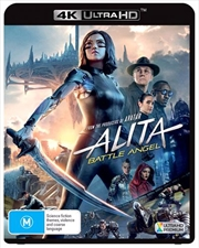 Alita - Battle Angel | UHD  (BONUS COLLECTOR CARDS)