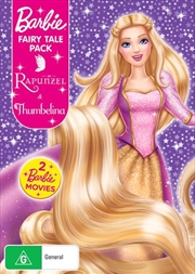 Barbie Thumbelina / Barbie As Rapunzel | Barbie Fairy Tale Pack