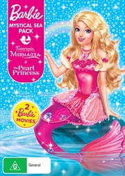 Barbie In The Pearl Princess / Barbie Mermaidia | Barbie Mystical Sea Pack | DVD