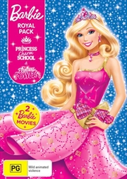 Barbie - Princess Charm School / Barbie In Princess Power | Barbie Royal Pack | DVD