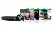 Xbox One Console X with 5 Games
