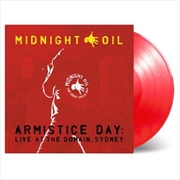Armistice Day - Live At The Domain Sydney - Limited Edition Red Coloured Vinyl