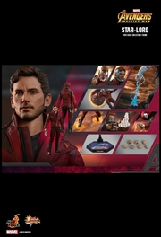 "Avengers 3: Infinity War - Star-Lord 12"" 1:6 Scale Action Figure 