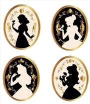 Disney - Princesses Enamel Pin 4-pack