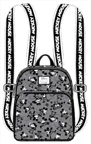 Mickey Mouse - Mickey Black & White Backpack | Apparel