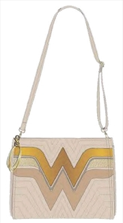 Wonder Woman - Cream Quilted Tote