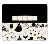 Cinderella - Black & White Purse