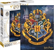 Harry Potter - Hogwarts Logo 1000 Piece Puzzle | Merchandise
