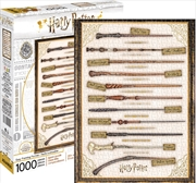 Harry Potter - Wands 1000 Piece Puzzle