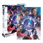 Avengers End Game 1000 Piece Puzzle | Merchandise