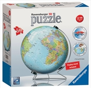 Ravensburger - World Globe 3D Puzzle 540 Pieces | Merchandise