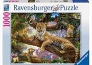 Ravensburger - Leopard Family Puzzle 1000 Pieces | Merchandise