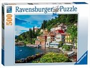 Ravensburger - Lake Como Italy Puzzle 500 Pieces