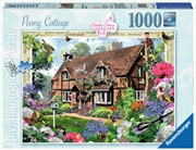 Ravensburger - Peony Country Cottage 1000 Pieces