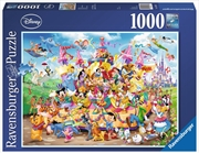 Ravensburger Disney Carnival Characters Jigsaw Puzzle 1000 Pieces | Merchandise