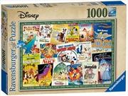 Ravensburger - Disney Vintage Movie Posters Puzzle 1000 Pieces