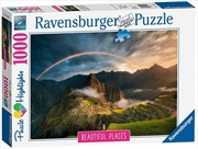 Ravensburger - Rainbow Over Machu Picchu Peru 1000 Pieces