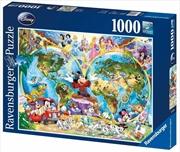 Ravensburger - Disney World Map Puzzle 1000 Pieces