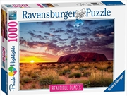 Ravensburger - Ayers Rock Australia Puzzle 1000 Pieces