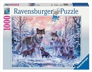 Ravensburger - Arctic Wolves Puzzle 1000 Pieces | Merchandise