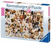 Ravensburger - Dogs Collage Puzzle - 1000 Pieces | Merchandise